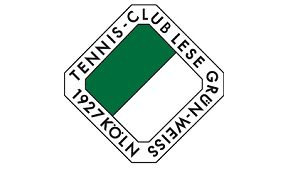 Logo Tennisclub Lese Grün Weiss