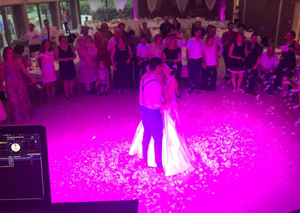 Jonas Moser DJ Eröffnungstanz Hochzeit
